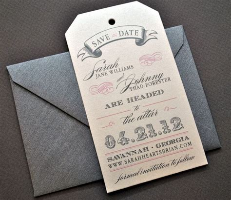 25 diy save the dates ideas to remember the most historic