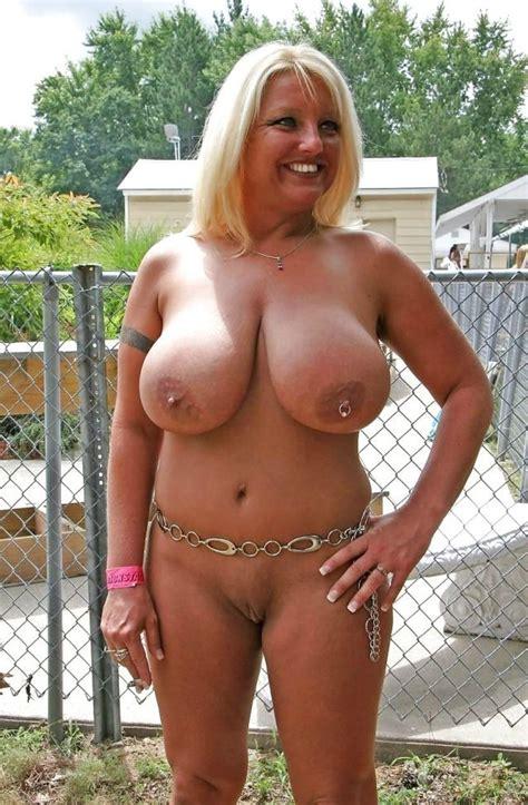 Busty Blonde Mature Via Rmaturemilf Huge Boobs