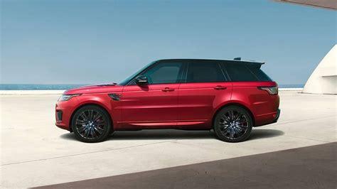 2019 Range Rover Sport by 2019 Land Rover Range Rover Sport Info Luxury Suvs