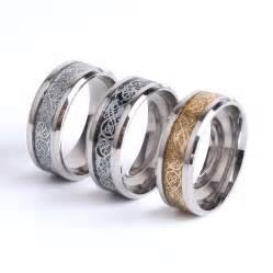 steel wedding rings aliexpress buy 39 s day vintage tungsten steel golden ring for