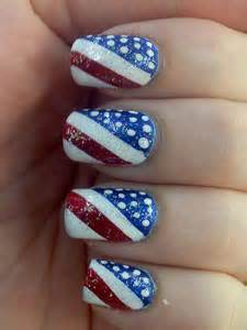 Amazing fourth of july acrylic nail art designs ideas