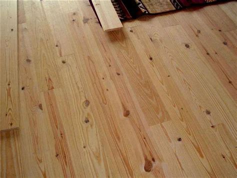 Authentic Southern Rustic Yellow # 2 Pine Flooring