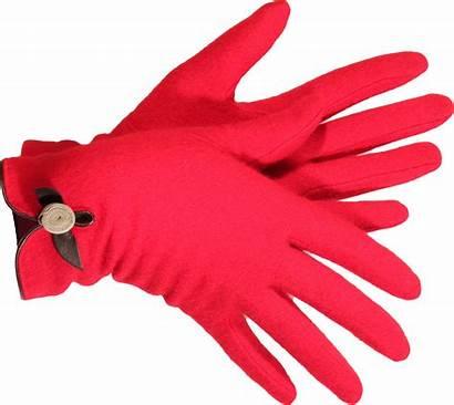 Gloves Clipart Pink Glove Hand Transparent Mittens