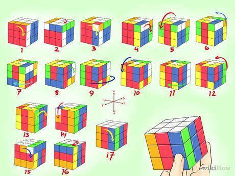 membuat pola kubus rubik  keren