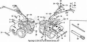 Honda Fr500 A Rototiller  Jpn  Vin  Fr500