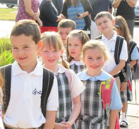 First Day Of School 2015  St Mary's Catholic School