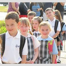 First Day Of School 2015  St Mary's Catholic School  Mansfield, Ma
