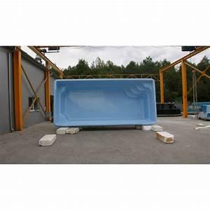 Piscine Coque Pas Cher : prix piscine coque rectangulaire 7m60x3mx1m50 ~ Mglfilm.com Idées de Décoration