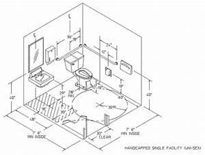 Handicapped bathroom dimensions ada handicap bathroom for Handicap bathroom specs