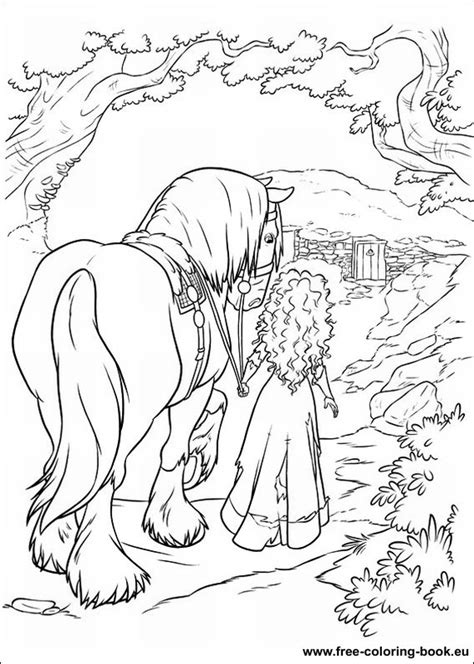 coloring pages brave page  printable coloring pages