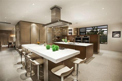cuisine americaine design cuisine américaine design idées aménagement et décoration