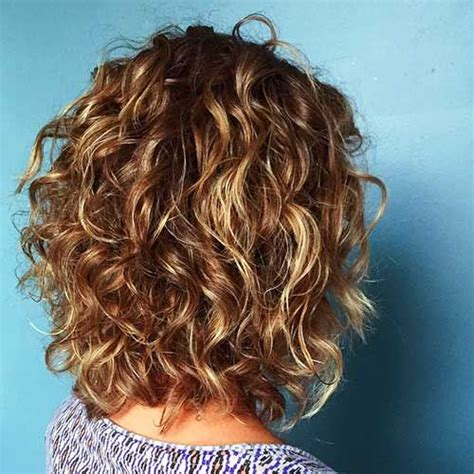 Curly Layered Short hair with layers Curly hair