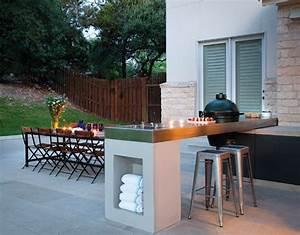 Bar Exterieur Design : la cuisine d 39 ext rieur un r ve pour les amoureux de la nature ~ Melissatoandfro.com Idées de Décoration