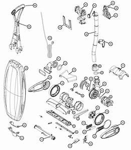 Oreck Lw1500 Magnesium Rs Vacuum Parts