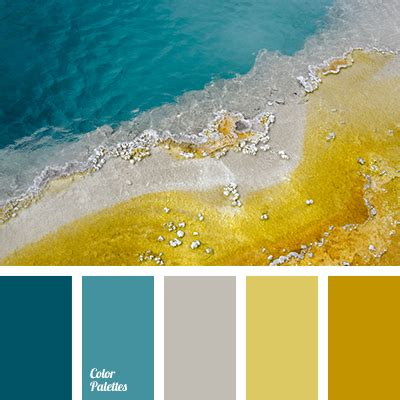Pale Yellow And Turquoise  Color Palette Ideas