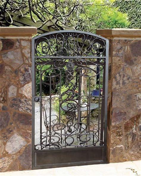 wrought iron garden gates wrought iron garden gate through the garden gate pinterest