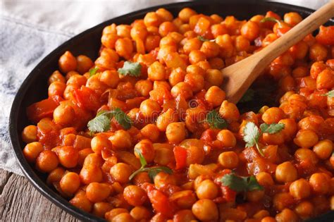 cuisine ayurveda cuisine indienne traditionnelle macro de masala de chana