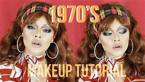 Historically Accurate 1970s DISCO Makeup Tutorial