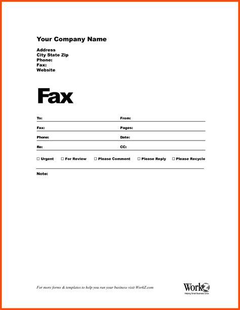 fill   fax cover sheet