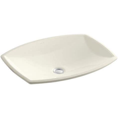 ladena sink home depot kohler ladena 20 7 8 quot undermount bathroom sink in biscuit