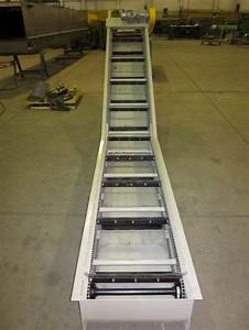 Drag Chain Dual Strand  U0026quot L U0026quot  Style Conveyor