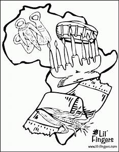 Kwanzaa Coloring Pages For Kids - Coloring Home
