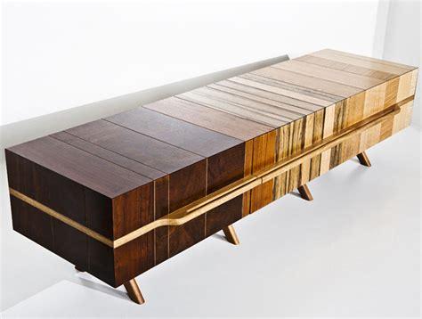 chissick design turns salvaged wood scraps  beautiful