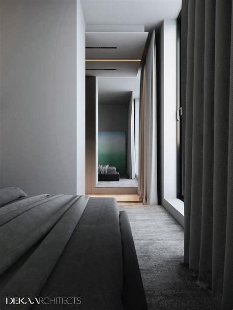 Grey, Raw, Masculine Interiors