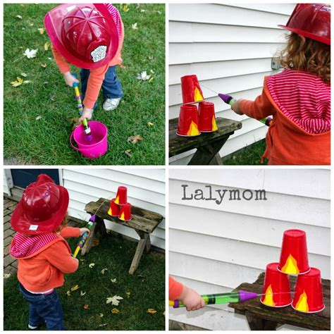 3 easy activities for safety for lalymom 227 | Fire Fighter Activities for Kids from Lalymom
