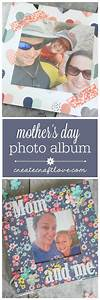 Mothers Day Photo Album and Free Printable - Create Craft Love