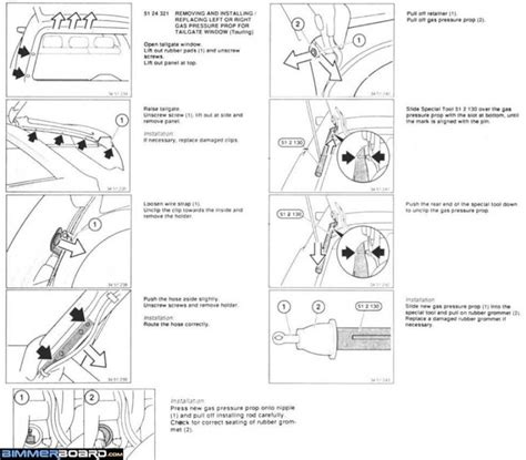 bmw e61 tailgate wiring diagram