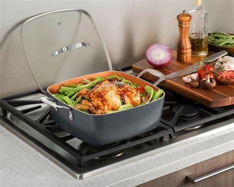 gotham steel  piece    kitchen nonstick cookware bakeware set  ebay
