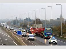 Biggestever load transported on Britain's roads weighing