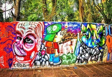 Grafiti Indonesia :  Background Graffiti Wall Yogyakarta