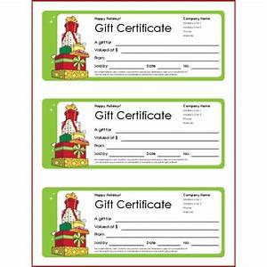christmas gift templates free and easy options With avery coupon template