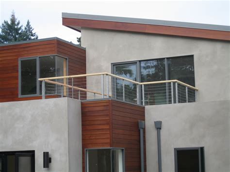 Modern Balcony Railing Design, Store Kayak On Balcony