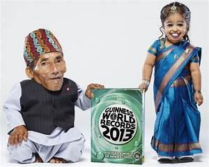 World's shortest man and woman meet for the first time ...
