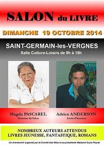 St Germain Les Vergnes : 7 lire salon du livre de saint germain les vergnes 19 dimanche 19 octobre 2014 ~ Medecine-chirurgie-esthetiques.com Avis de Voitures