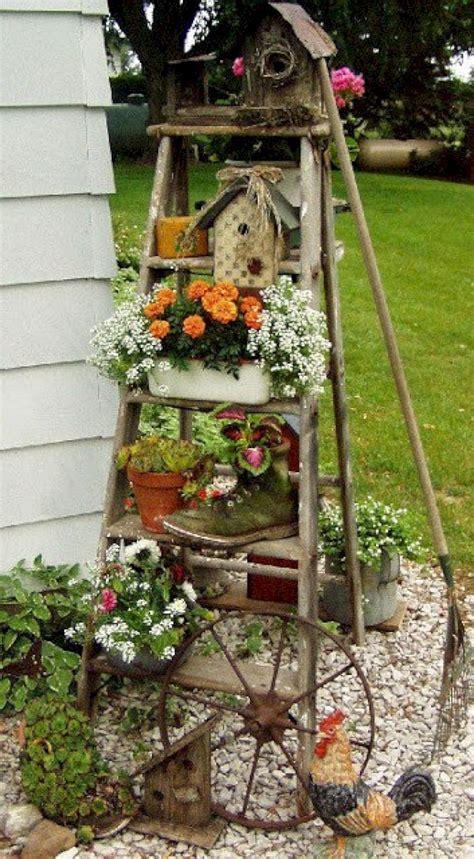 garden decor ideas 8 brilliant diy vintage and rustic garden decor ideas on