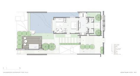 villa floor plans modern villa floor plan in bali studio design