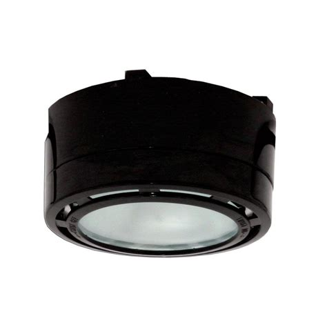 irradiant 2 light 120 volt black cabinet xenon puck