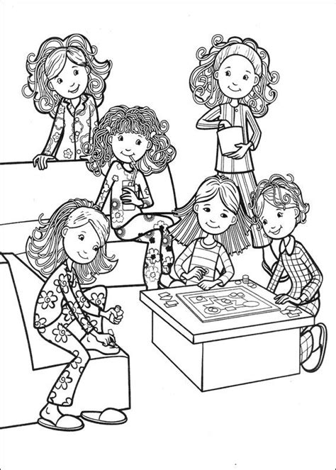 kids  funcom  coloring pages  groovy girls