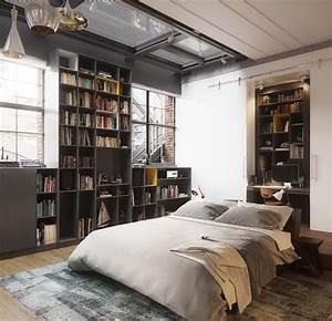Deco Industrielle Pas Cher : 1001 id es top pour d corer une chambre style industriel ~ Teatrodelosmanantiales.com Idées de Décoration