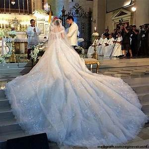 105 best wedding gowns images on pinterest for Michael medina wedding dress