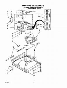 Parts For Whirlpool Lsq9544kq0 Washer
