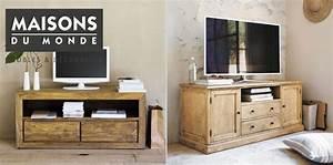 Meuble De Salle De Bain Maison Du Monde : meubles tv maisons du monde 21 mod les pour votre int rieur ~ Melissatoandfro.com Idées de Décoration