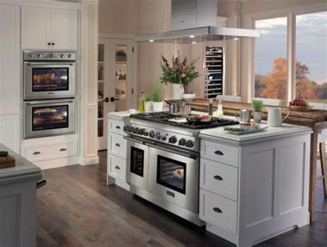 kitchen island cooker 31 smart kitchen islands with built in appliances digsdigs
