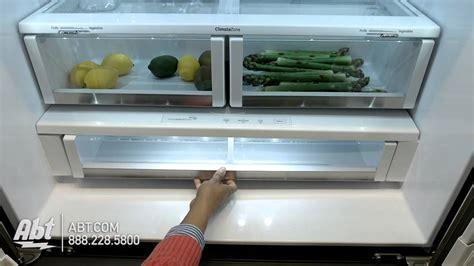 ge monogram french door bottom freezer refrigerator zweeshss overview youtube