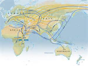 National Geographic Human Migration Map
