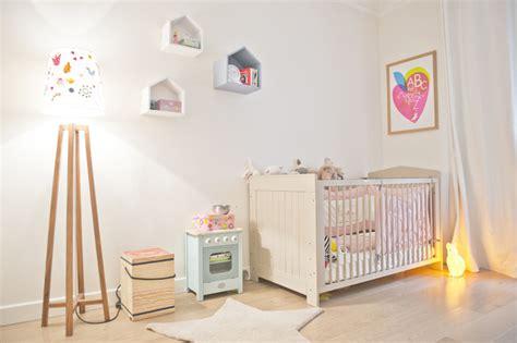 papier peint chambre b b mixte appartement contemporain chambre de bébé